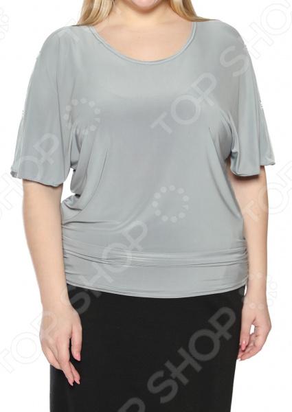 Блуза Pretty Woman «Фруктовый заряд». Цвет: серый