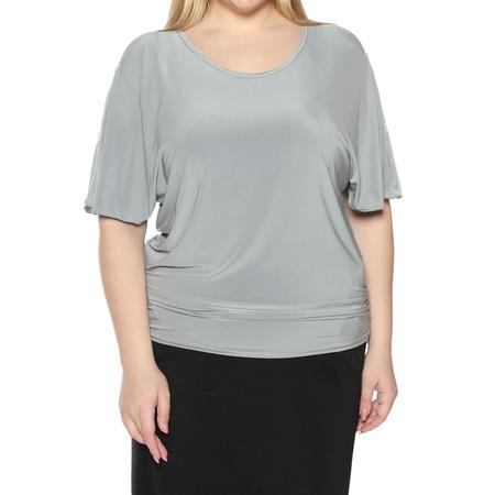 Купить Блуза Pretty Woman «Фруктовый заряд». Цвет: серый
