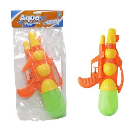 Купить Пистолет водный 1 Toy «Аквамания» с двумя отверстиями