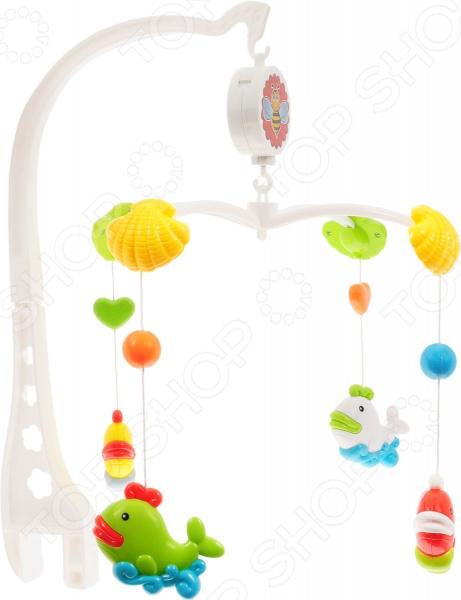 Мобиль на кроватку Наша Игрушка «Рыбки на карусели»