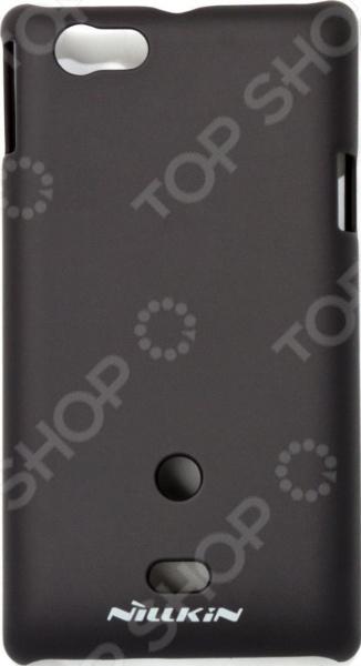 Чехол защитный Nillkin Sony Xperia ST23i Miro смартфон sony xperia xa1 ultra dual