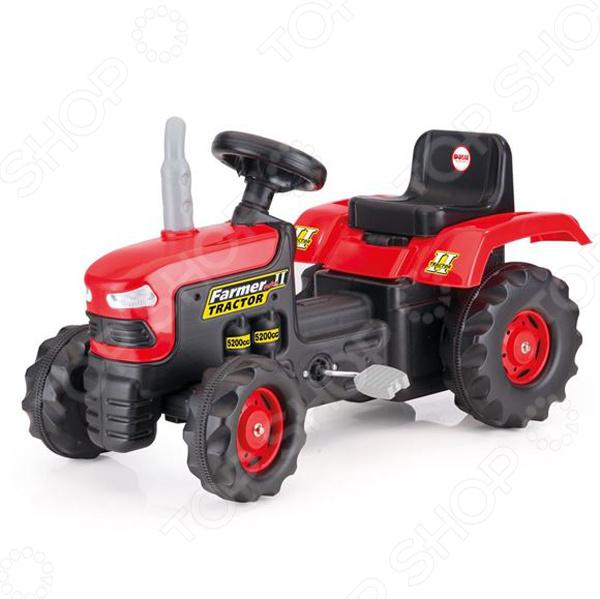 Машина-каталка педальная Dolu «Трактор»