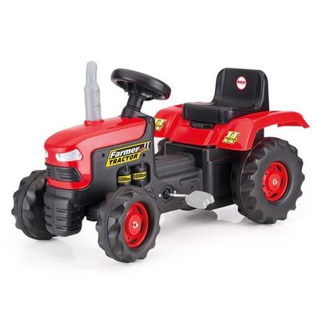 Купить Машина-каталка педальная Dolu «Трактор»