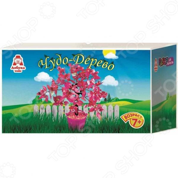Набор для детского творчества Азбука тойс «Чудо-дерево: Розовое»