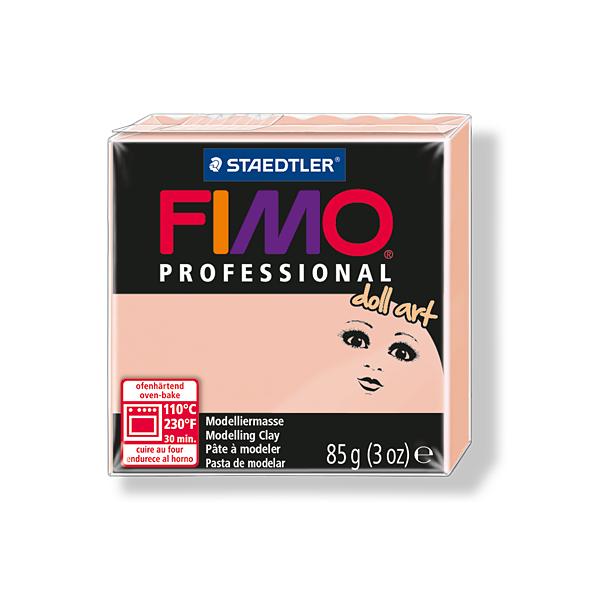 фото Пластика для создания кукол Fimo Professional doll art 8027. Цвет: полупрозрачный розовый