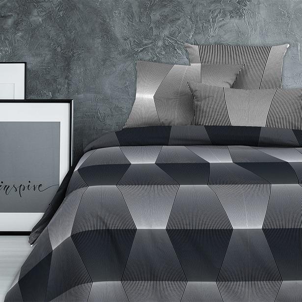 фото Комплект постельного белья Wenge Graph Loft. Евро