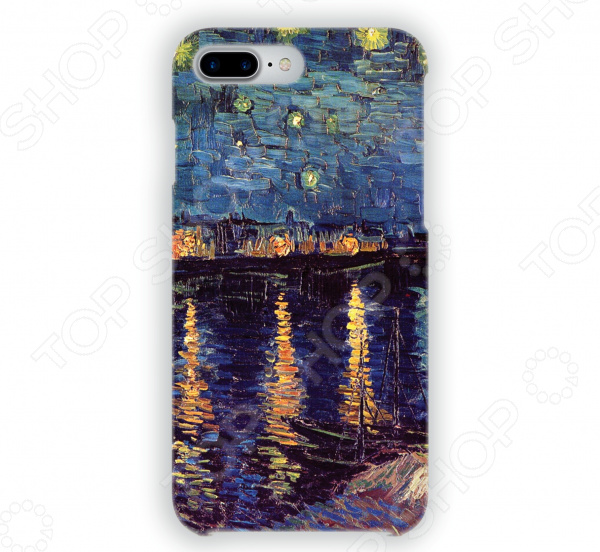 Чехол для iPhone 7 Plus Mitya Veselkov «Ван Гог: Ночь над Роной» чехол для iphone 5 mitya veselkov ван гог ночь над роной
