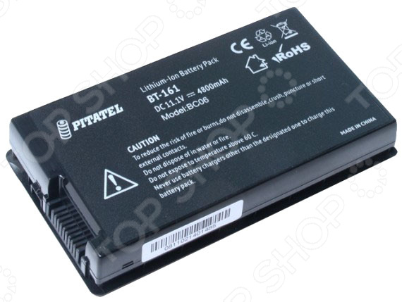 Аккумулятор для ноутбука Pitatel BT-161B аккумуляторная батарея для ноутбука asus k46 k46c k46cm k56 a32 k56 a41 k56