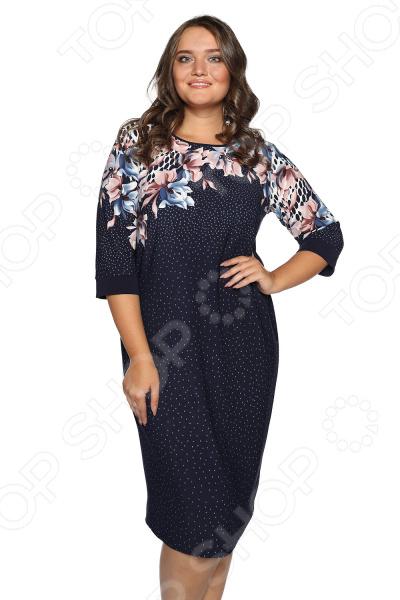 Платье Лауме-Лайн «Поцелуй ночи». Цвет: синий lovaru ™ 2017 платье для женщин платье вечернее платье для женщин