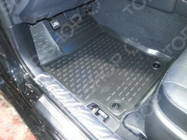 Комплект 3D ковриков в салон автомобиля Novline-Autofamily Toyota Camry 2014 автомобильный коврик seintex 84980 для toyota camry