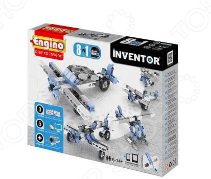Конструктор игрушечный Engino Pico Builds / INVENTOR PB23 «Самолеты» конструкторы engino pico builds inventor мотоциклы 8 в 1