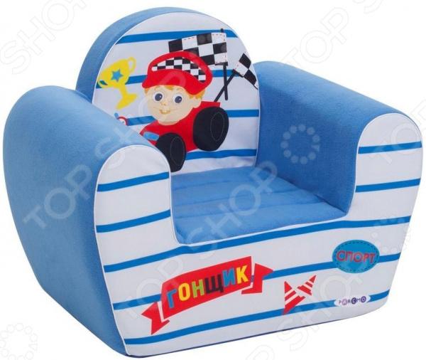 Кресло детское игровое PAREMO «Гонщик»