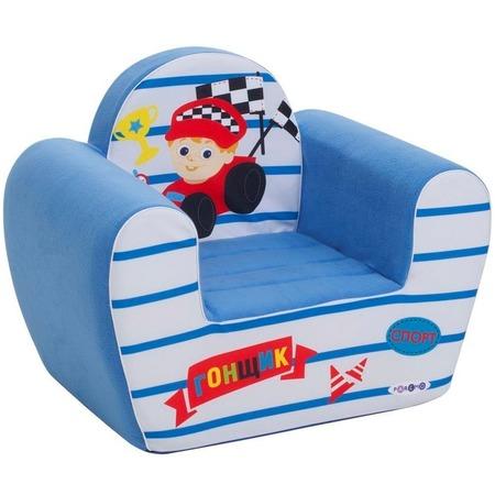 Купить Кресло детское игровое PAREMO «Гонщик»