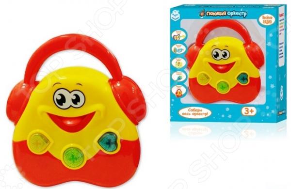Магнитофон игрушечный 1 Toy «Поющий Оркестр» 1 toy игрушечный автомат пулемет взвод