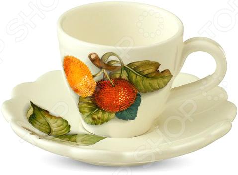 Чайная пара Nuova Cer «Итальянские фрукты»