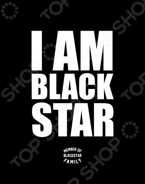 Эксмо 978-5-699-91272-8 Тетрадь в клетку I am Black Star. Member of Black Star Family