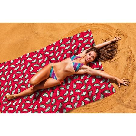 Купить Покрывало пляжное Сирень «Необычный арбуз»