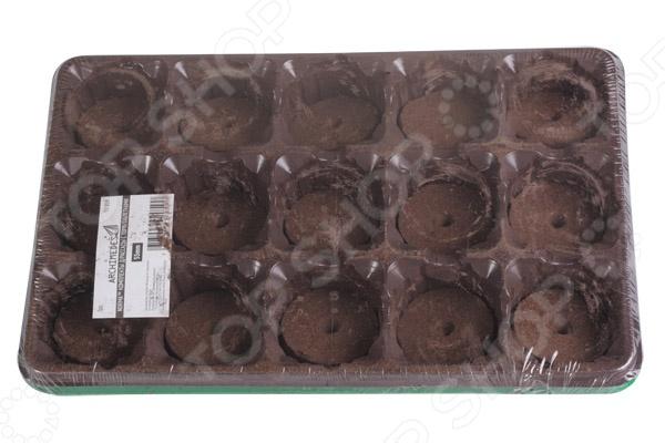 Набор для выращивания рассады Archimedes с торфяными таблетками набор для выращивания рассады martika пианто с перегородками 15 ячеек