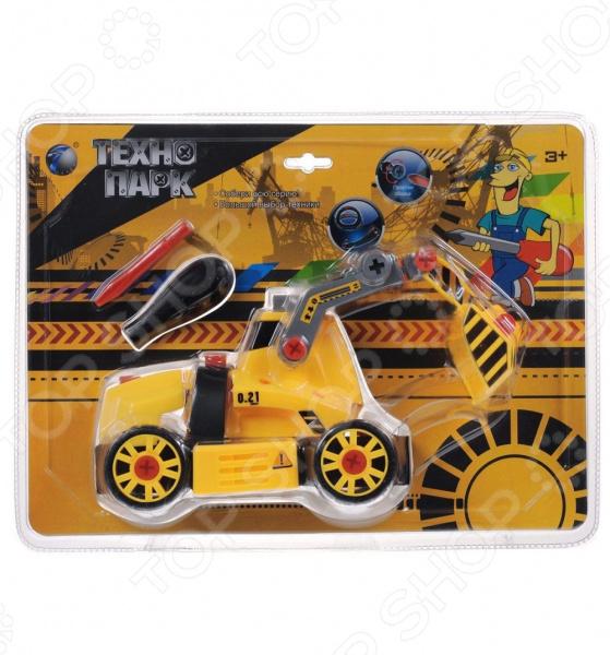Конструктор Tongde В72177 Трактор с ковшом придется по душе любому мальчишке. Игрушка выполнена из пластика ярких цветов и, несомненно, одним своим видом привлечет внимание малыша. Мальчик получит большое удовольствие собирая и разбираю игрушку, а также играя с ней. Машинка интересна и тем, что ее колеса и ковш являются подвижными. Играя с такой игрушкой, ребенок получает возможность развить моторику рук, пространственное мышление и цветовое восприятие.