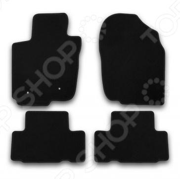 Комплект ковриков в салон автомобиля Klever Toyota RAV4 2010-2013 Econom цены