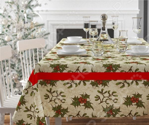 Скатерть Сирень «Рождественское украшение»