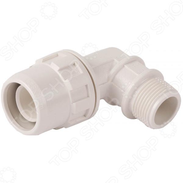 Муфта соединительная угловая Зубр «ШиреФит» 51465 муфта водосточной трубы соединительная пластиковая docke lux d100 мм пломбир