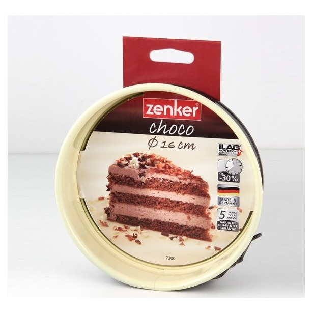 фото Форма для выпечки разъемная Zenker Choco-Vanila