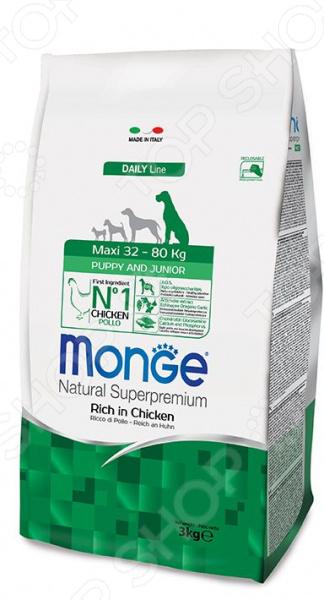 monge Natural Superpremium Maxi Puppy Rich in Chicken