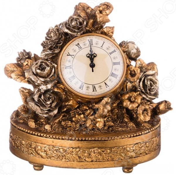 Часы настольные «Розы» 61-352 купить часы мальчику 7 лет