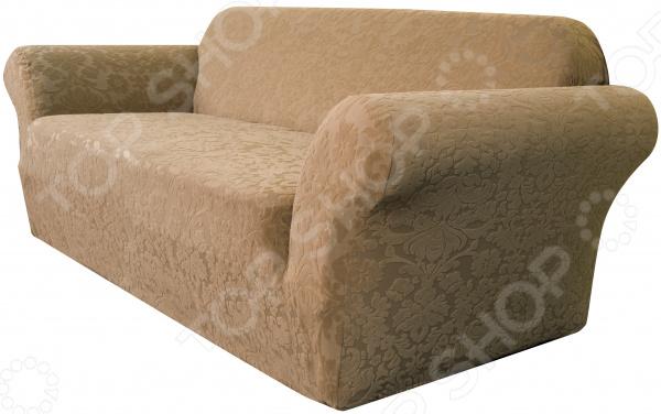 Zakazat.ru: Натяжной чехол на трехместный диван Медежда «Челтон»