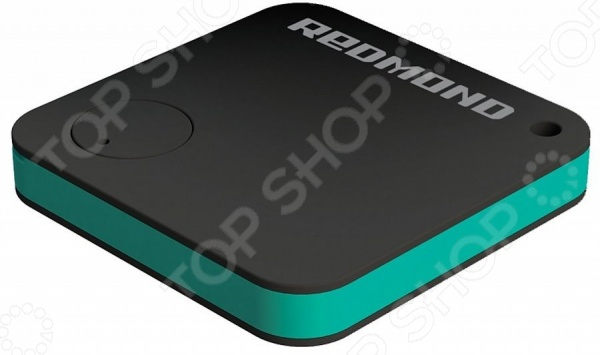 Умный трекер Bluetooth для iOS Android устройств Redmond RFT-08S компактное и практичное устройство, обеспечивающее сохранность ваших личных вещей и даже питомцев. Ко всему прочему, трекер можно использовать для контроля и отслеживания местоположения ребенка. Достаточно лишь надежно разместить приспособление рядом с охраняемым объектом. Как только ребенок, питомец или вещь будет от вас на расстоянии более 50-ти метров, трекер отправит извещение на смартфон. Среди прочих преимуществ также стоит отметить встроенный электронный термометр и кнопку затвора камеры для создания эффектных селфи. На трекере расположено отверстие для закрепления его на ключах или других предметах в качестве брелка.