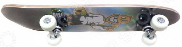 Скейтборд Action PWS-510 залито асфальтом