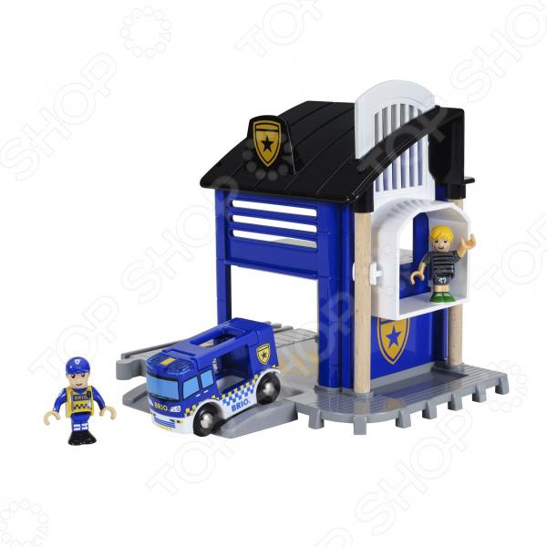 Набор игровой Brio «Полицейский участок»