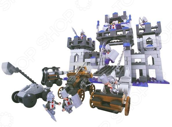 Конструктор игровой 1 Toy «Рыцари. Осада замка» 1toy осада замка конструктор