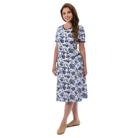 Купить Платье Алтекс «Мария». Рисунок: монстера