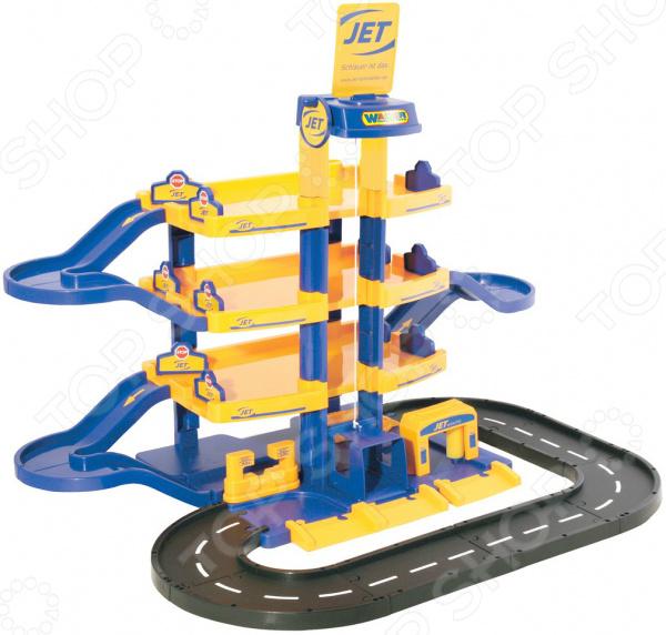 Набор игровой для мальчика Wader Jet «Паркинг 4-уровневый с дорогой»