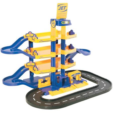 Купить Набор игровой для мальчика Wader Jet «Паркинг 4-уровневый с дорогой»