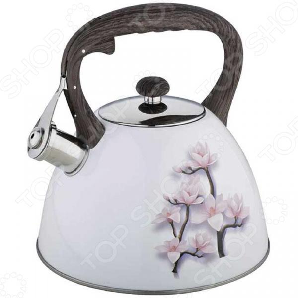 Чайник со свистком Zeidan Z-4218 чайник со свистком zeidan z 4184 чаепитие