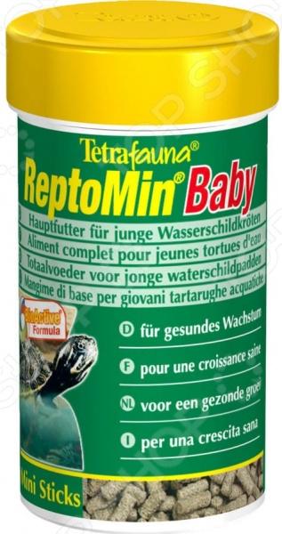 Корм для водяных черепах ReptoMin