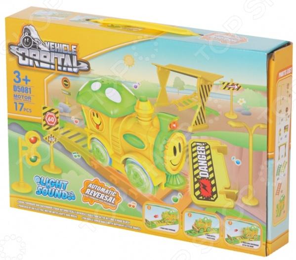 Набор железной дороги игрушечный Yako со светозвуковыми эффектами