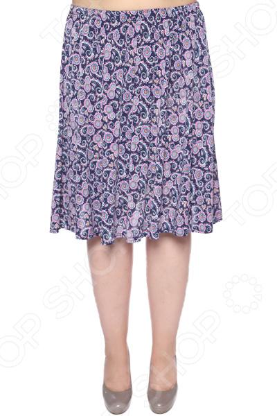 Юбка Pretty Woman «Пламенное солнце». Цвет: синий, розовый