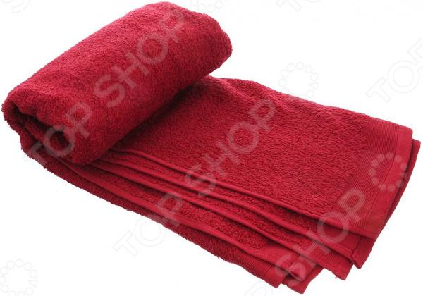 Полотенце махровое Guten Morgen. Цвет: красный