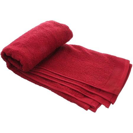 Купить Полотенце махровое Guten Morgen. Цвет: красный