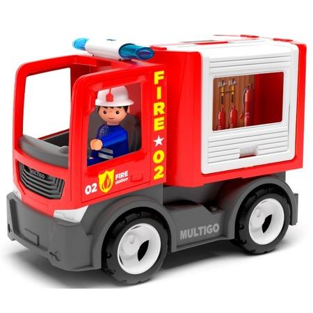 Купить Машинка игровая EFKO «Пожарная машина для команды с водителем»