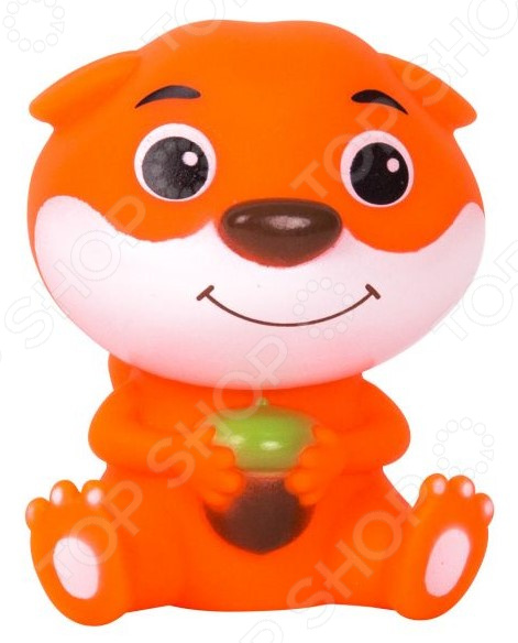 Игрушка для ванны детская Happy Snail «Бельчонок Хруми»