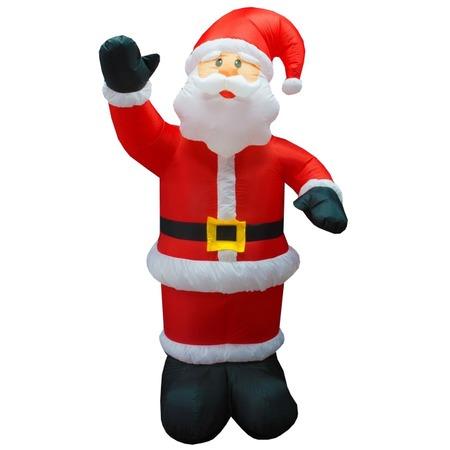 Купить Фигура 3D надувная с подсветкой Neon-Night «Дед Мороз приветствует»