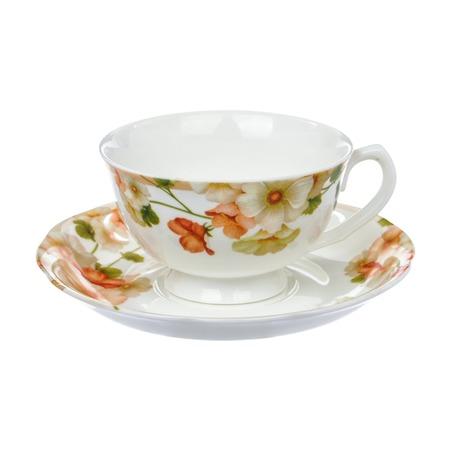 Купить Чайная пара Nanshan Porcelain «Мальва»