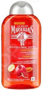 Шампунь для окрашенных волос DIVAGE Le Petit Marseillais «Гранат и Масло Арганы»
