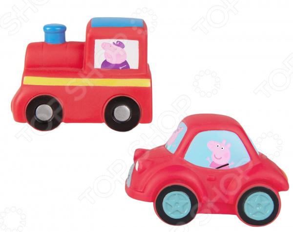 Набор детских игрушек для ванны Peppa Pig «Транспорт Пеппы» игрушки для ванны peppa pig пальчиковый театр