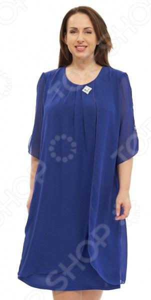 Платье Pretty Woman «История любви». Цвет: васильковый